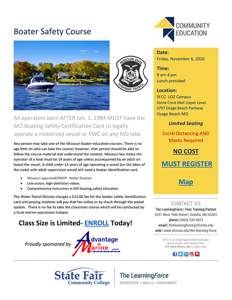 2020 Boater Safety Course