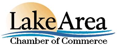 Lake area chamber logo